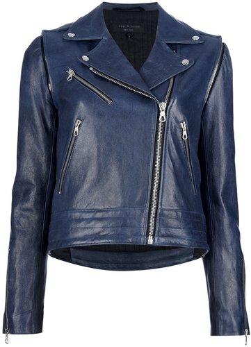 Rag & Bone lambskin biker jacket