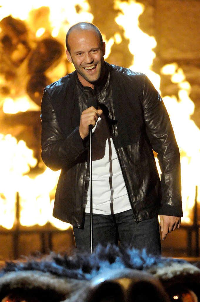 Jason Statham took the stage in 2009 at the award show.