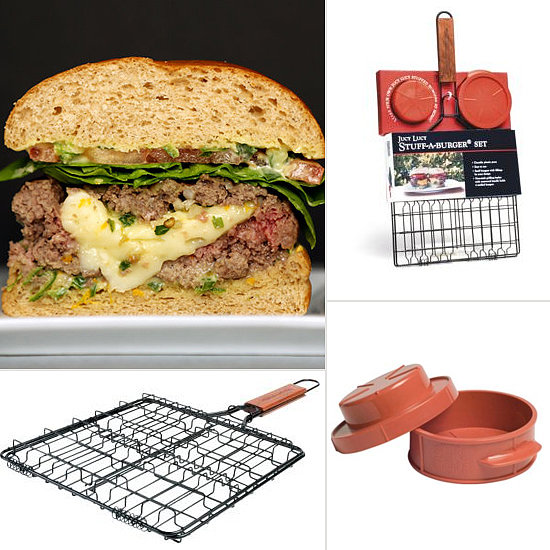 Stuffed Burger Basket and Press