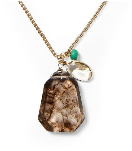 Sabine Stone Charms Pendant Necklace