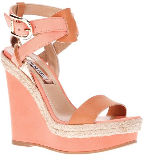 Pinko 'Mikonos' wedge sandal