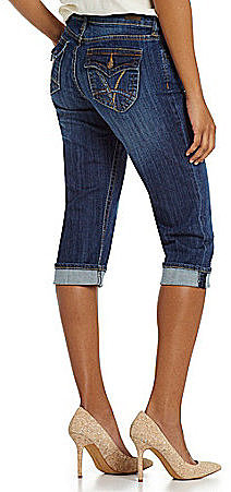 Kut from the Kloth Natalie Denim Capri Pants