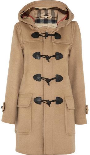 Burberry Brit Wool-felt duffle coat
