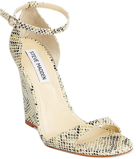 Steve Madden Women's Shoes, Reeldeal Wedge Sandals