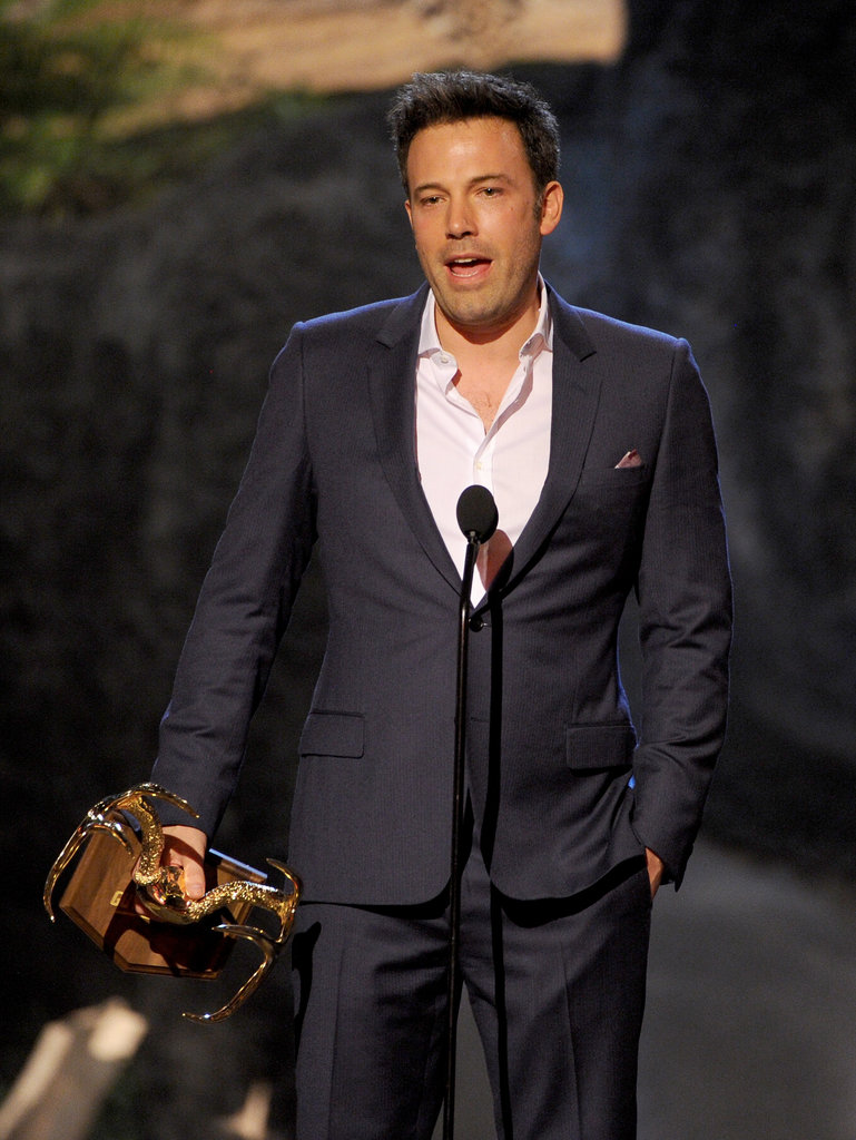 Ben Affleck Celebrates His Guy of the Year Status