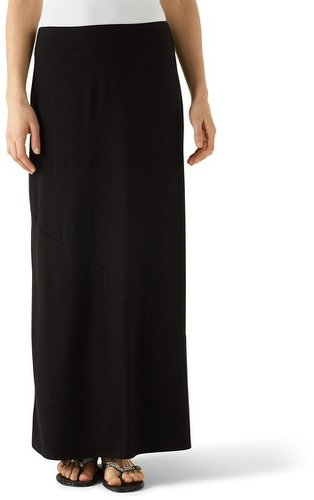 Seamed Maxi Skirt