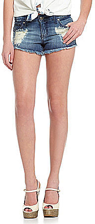 Jessica Simpson Jeanswear Myra Fray-Hem Shorts