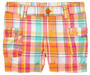 Plaid Cuffed Short