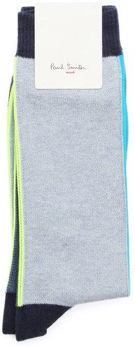 Two-tone Neon Socks PAUL SMITH ACCESSORY