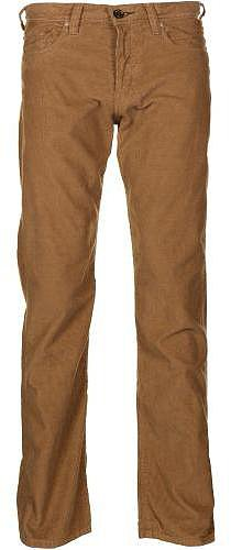 Paul Smith Jeans Men's Standard Fit Tan Brown Corduroy Trousers