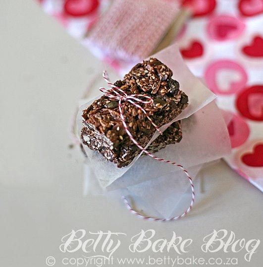 Chocolate Picnic Snack Bars