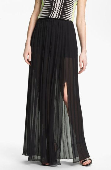 Vince Camuto Pleat Maxi Skirt