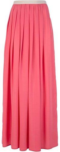 Erika Cavallini Semi Couture pleated maxi skirt