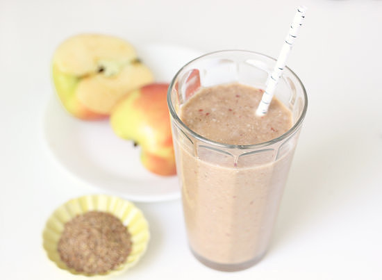 Overnight Apple Cinnamon Smoothie