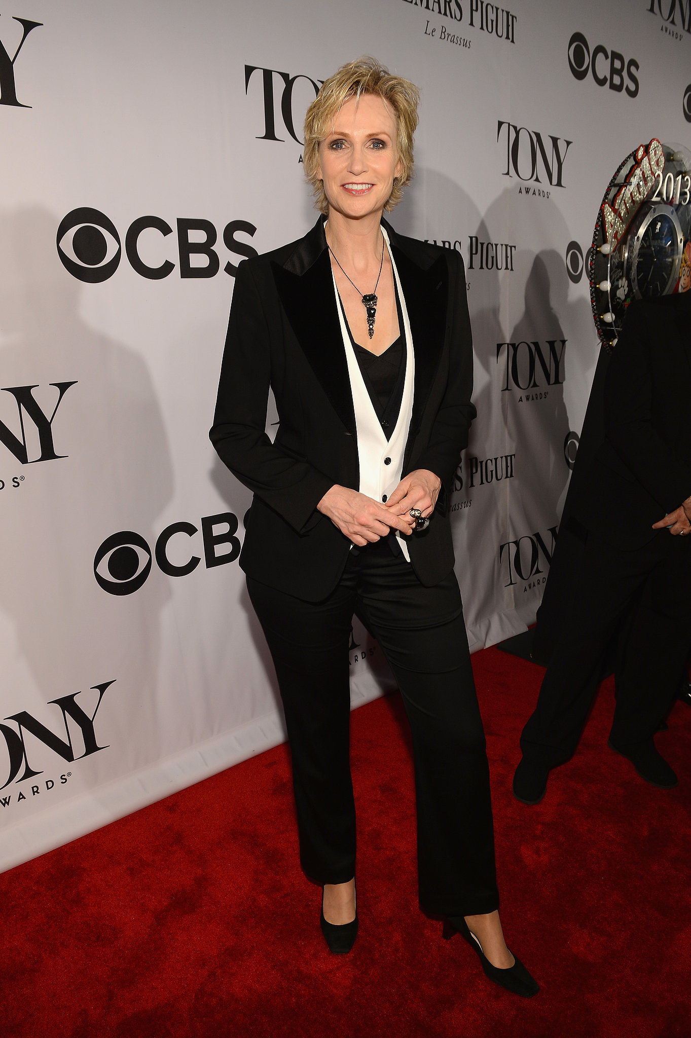 Jane Lynch vest