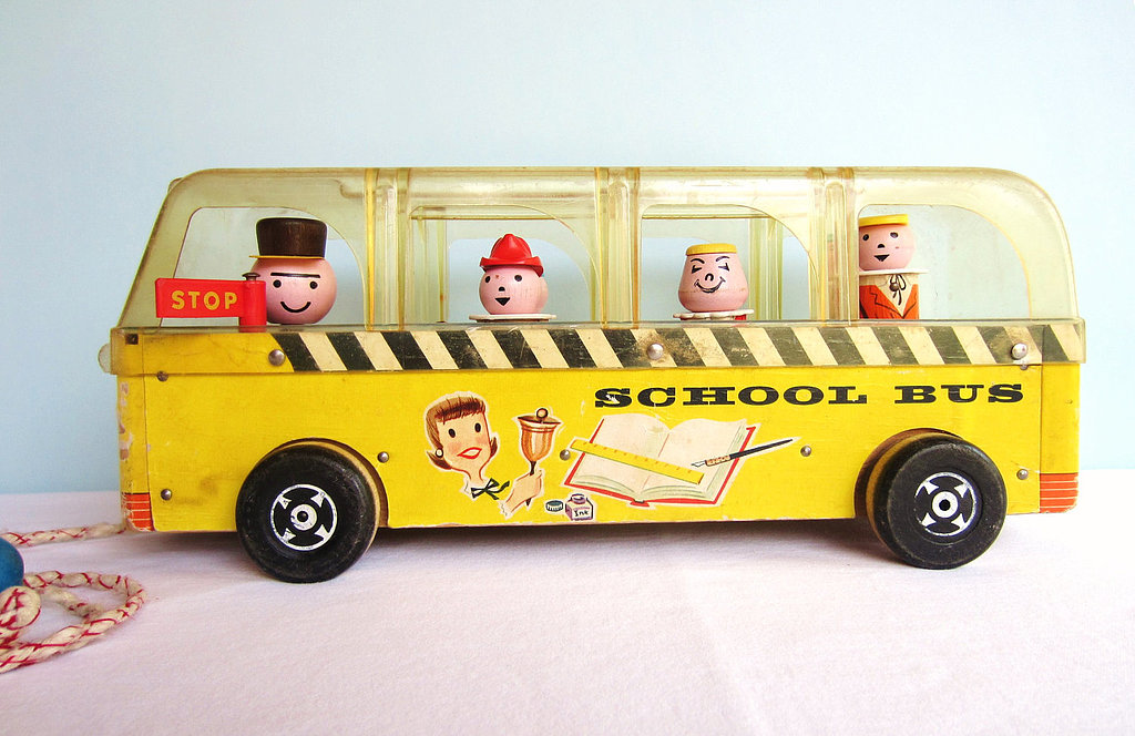 Fisher-Price Little People Safety School Bus —1959