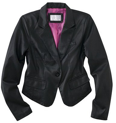 Xhilaration® Faux Leather Blazer - Assorted Colors