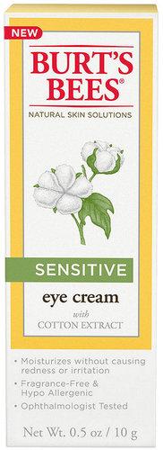 Burt's Bees Sensitive Eye Cream, 0.5 oz