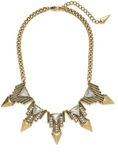 Gold Aztec Triad Collar