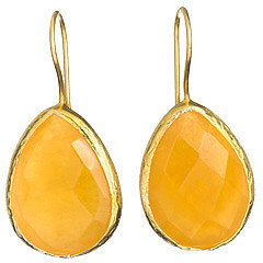 Max and Chloe Signature Teardrop Natural Stone Earrings