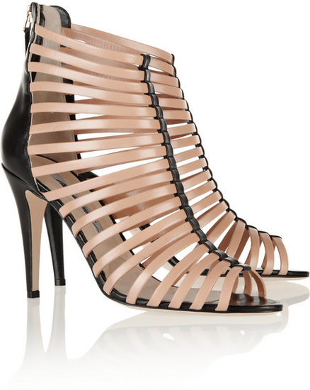 Brian Atwood Dolores two-tone leather sandals