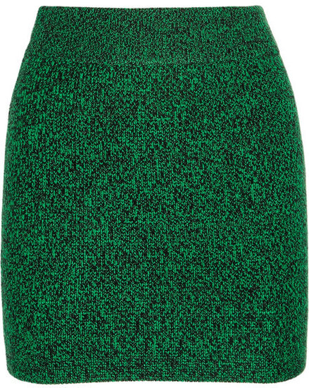 T by Alexander Wang Knitted mini skirt
