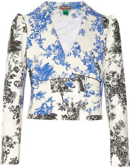 Duro Olowu Toile de Jouy-print cotton-blend jacket