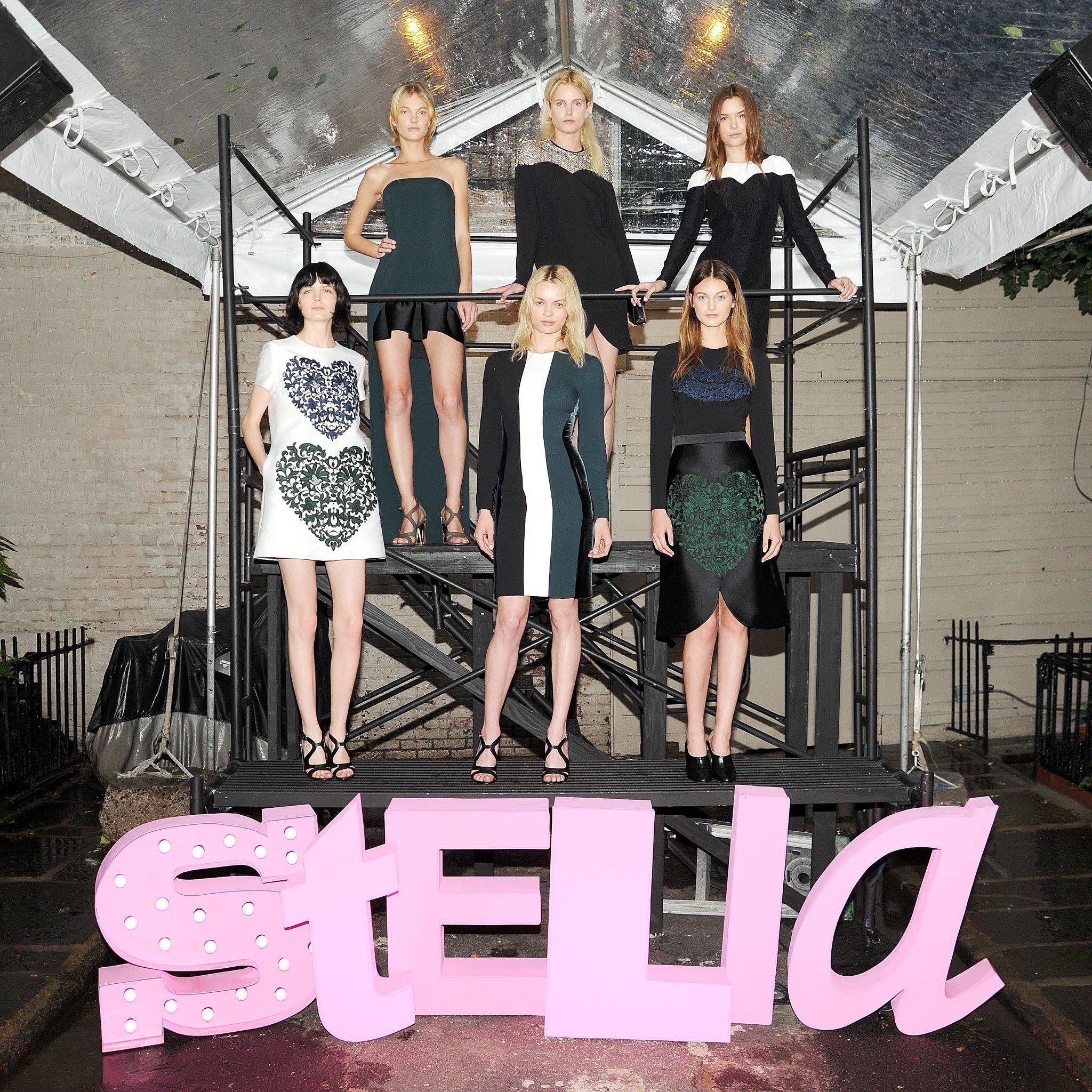 Models at Stella McCartney's Resort 2014 presentation. Source: Billy Farrell/BFAnyc.com