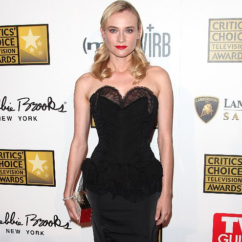 Critics Choice Television Awards Red Carpet Dresses 2013