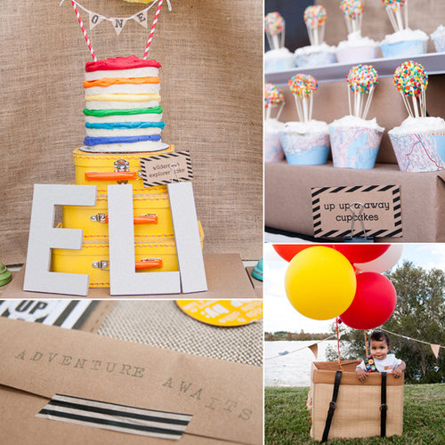 A Colorful Up-Inspired Party With DIY Details