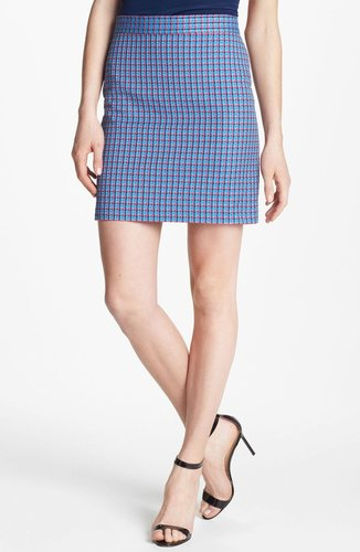 MARC BY MARC JACOBS 'Clover' Check Miniskirt