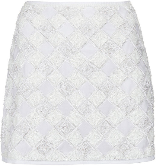 Tall Checkerboard Pelmet Skirt