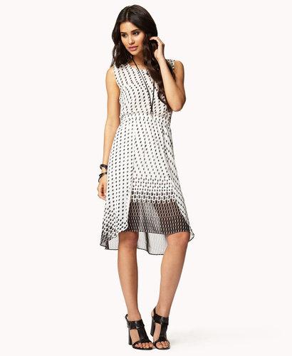 FOREVER 21 M-Slit Cube Dress