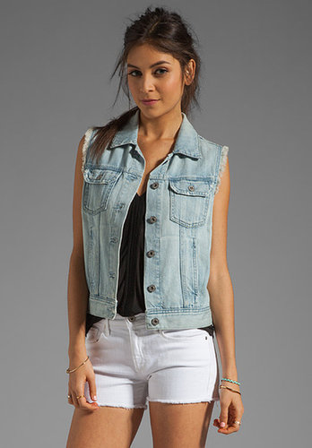AG Adriano Goldschmied The Heather Easy Denim Vest