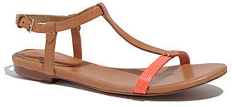 The sonny sandal in lizardstamp