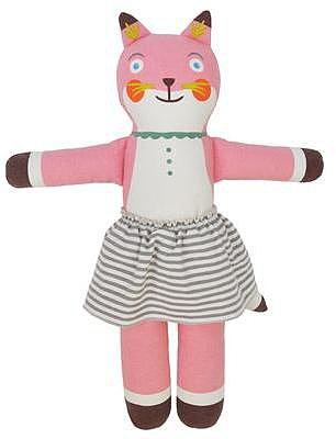 Suzette the Fox Cloth Doll by Blabla