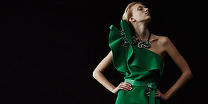Lanvin Resort 2014: Bejewelled Opulence With a Wink