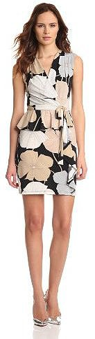 maxandcleo Women's Faux Wrap with Peplum