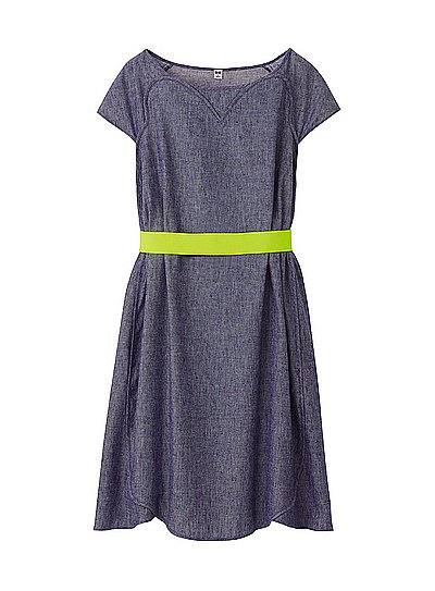 O'2nd, one of South Korea's most popular brands, has teamed up with Uniqlo for a capsule collection of Summer-ready dresses that are feminine with a touch of masculinity. One of our favorite pieces is this denim dress featuring a neon belt ($40). But we also love this perfect striped dress ($30). Want to see more? Shop the complete collection now.