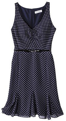 Kate Young For Target® Chiffon Dress -Polka Dot Print