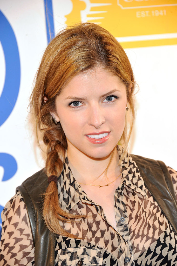 Anna Kendrick's side braid is the perfect balance of cute and effortless.