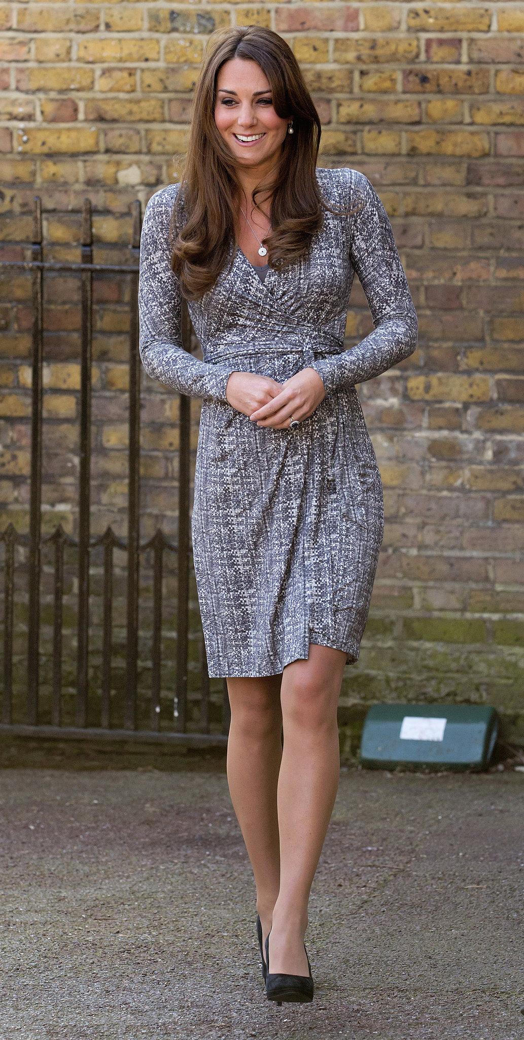 On Feb 19 Kate Middleton Visited Hope House In London