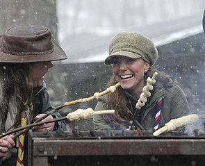 Kate-showed-off-her-camping-skills-when-she-attended-volunteer