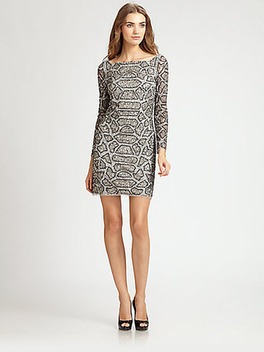 Aidan Mattox Beaded Dress