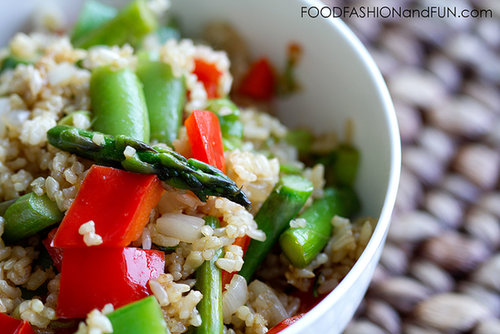 Fried Rice with Summer Vegetables