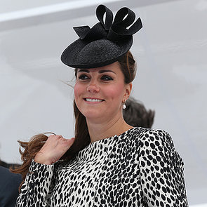 Pregnant Kate Middleton Christening Ship in England