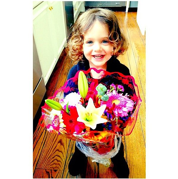 Skyler Berman surprised his mama with a beautiful bouquet of flowers on Sunday morning. Source: Instagram user rachelzoe