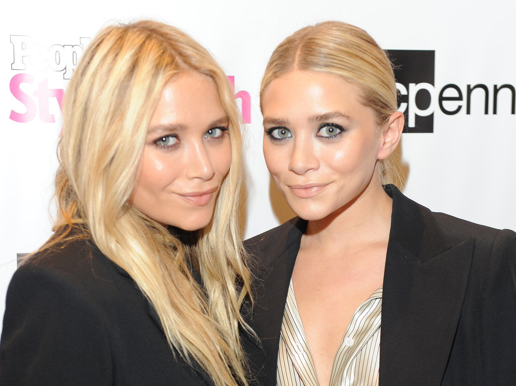 Later in 2011, the two were out celebrating Fashion's Night Out with light blond hair. Mary-Kate stuck to her signature waves, while Ashley went with a sleek updo.