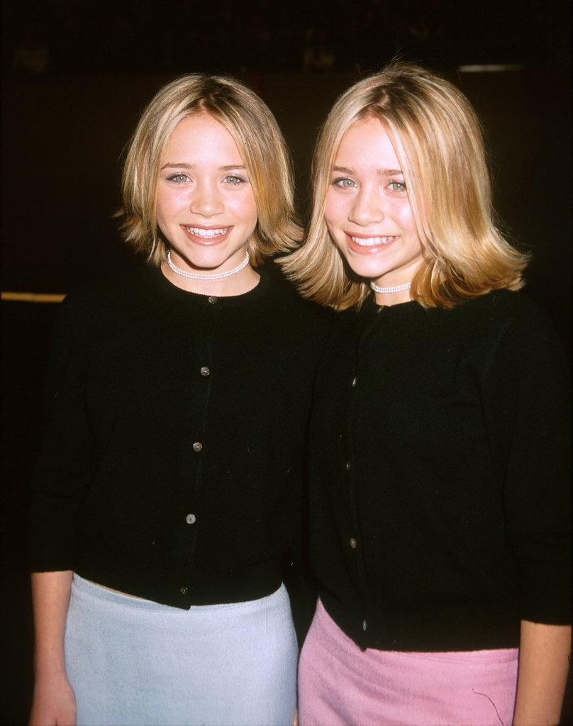 For the 1999 premiere of Anna and the King, Mary-Kate and Ashley may have worn coordinating outfits (again!), but this time they had different hair lengths, which were both flipped out.