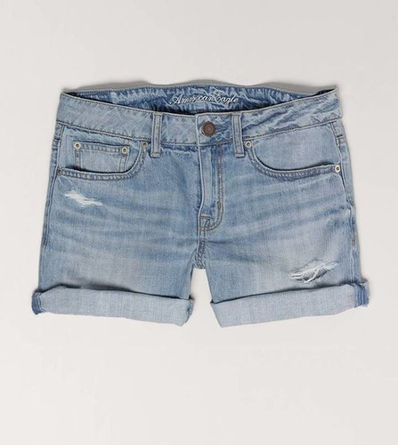 AE Destroyed Boyfit Midi Short